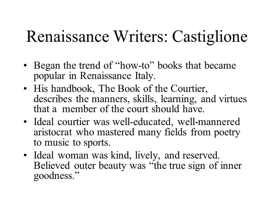Renaissance Writers: Castiglione