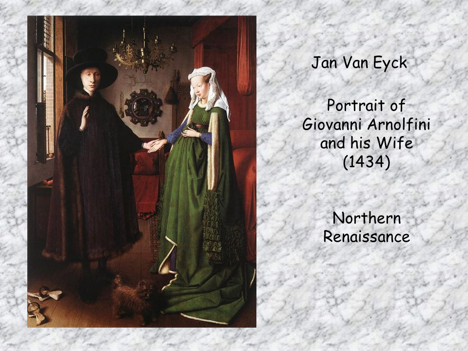 Portrait of Giovanni Arnolfini and his Wife (1434)