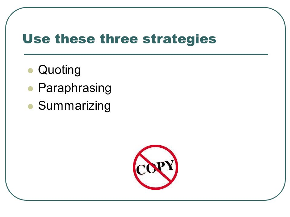 Use these three strategies