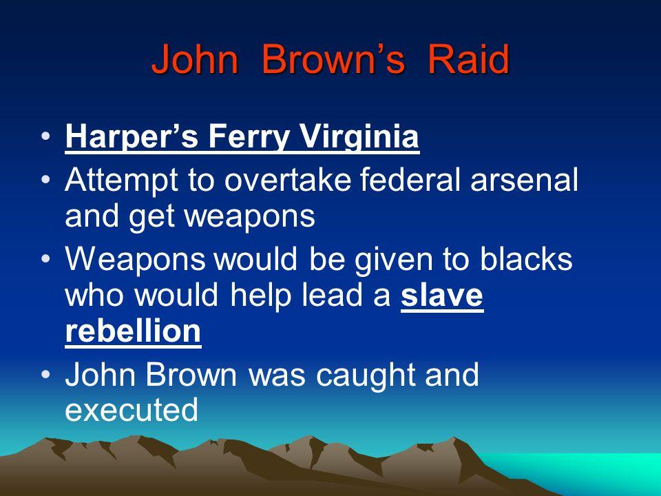 John Brown's Raid Harper's Ferry Virginia