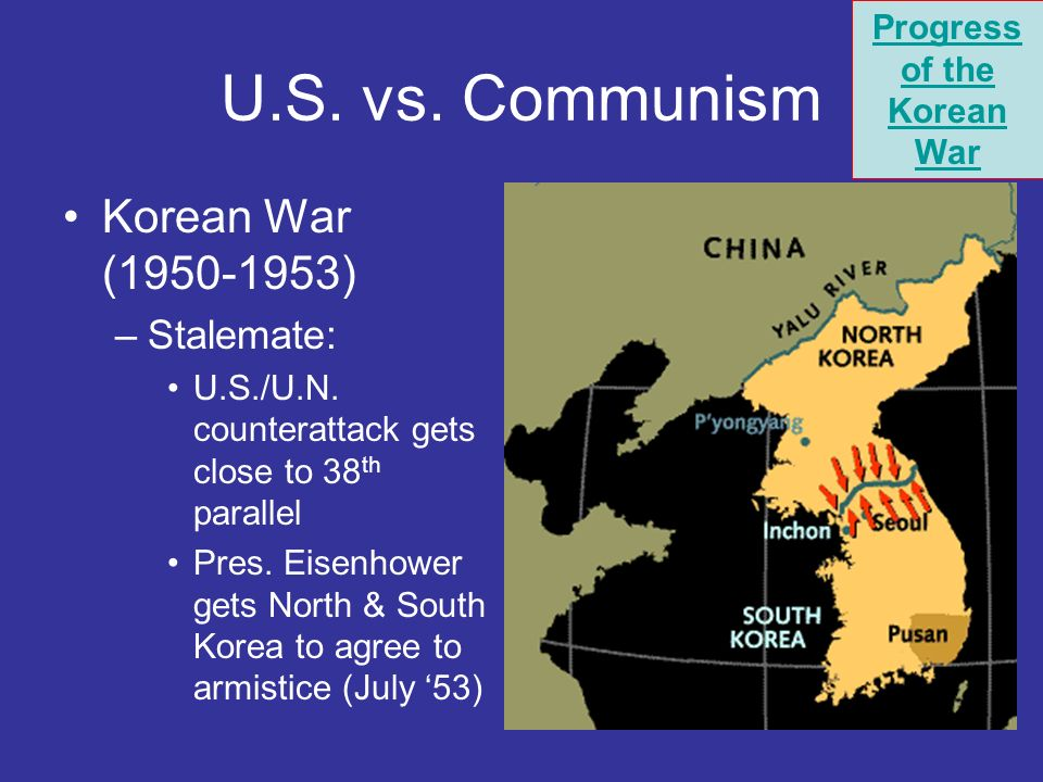 Progress of the Korean War
