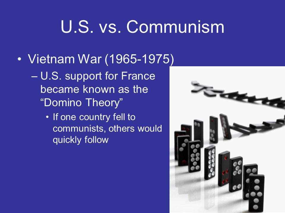 U.S. vs. Communism Vietnam War (1965-1975)