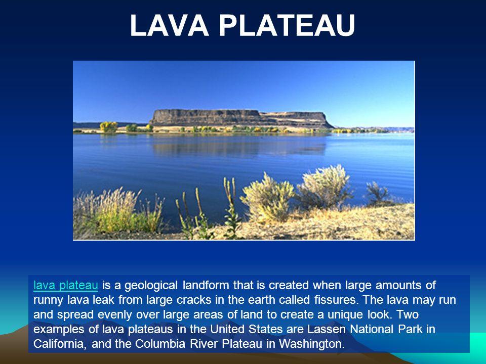 LAVA PLATEAU