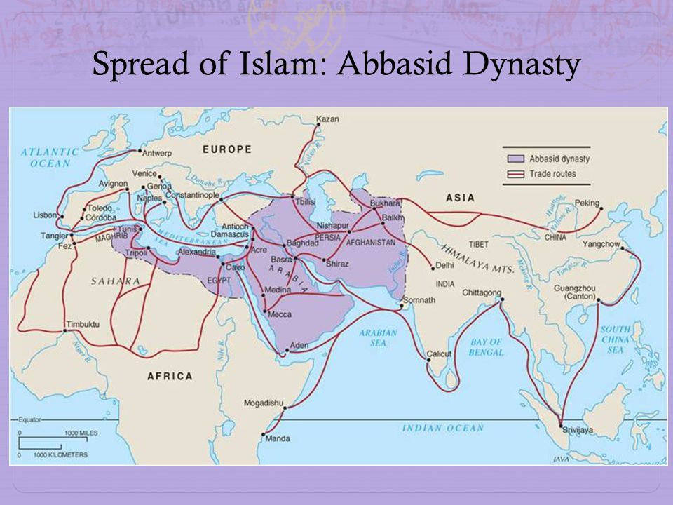 Spread of Islam: Abbasid Dynasty