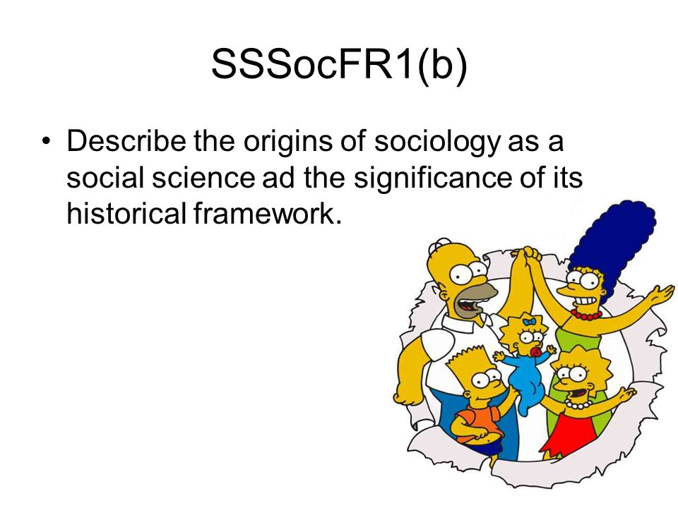 the origins of sociology The history of sociology throughout history people have always been social thinkers, making observations about people and human behaviour philosophers such as plato and aristotle were engaged in theories around many aspects of human behaviour but unlike future sociologist they provided theories on what society ought to be like rather than describing how society actually was.
