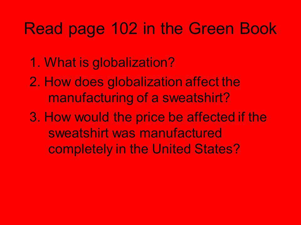 Read page 102 in the Green Book