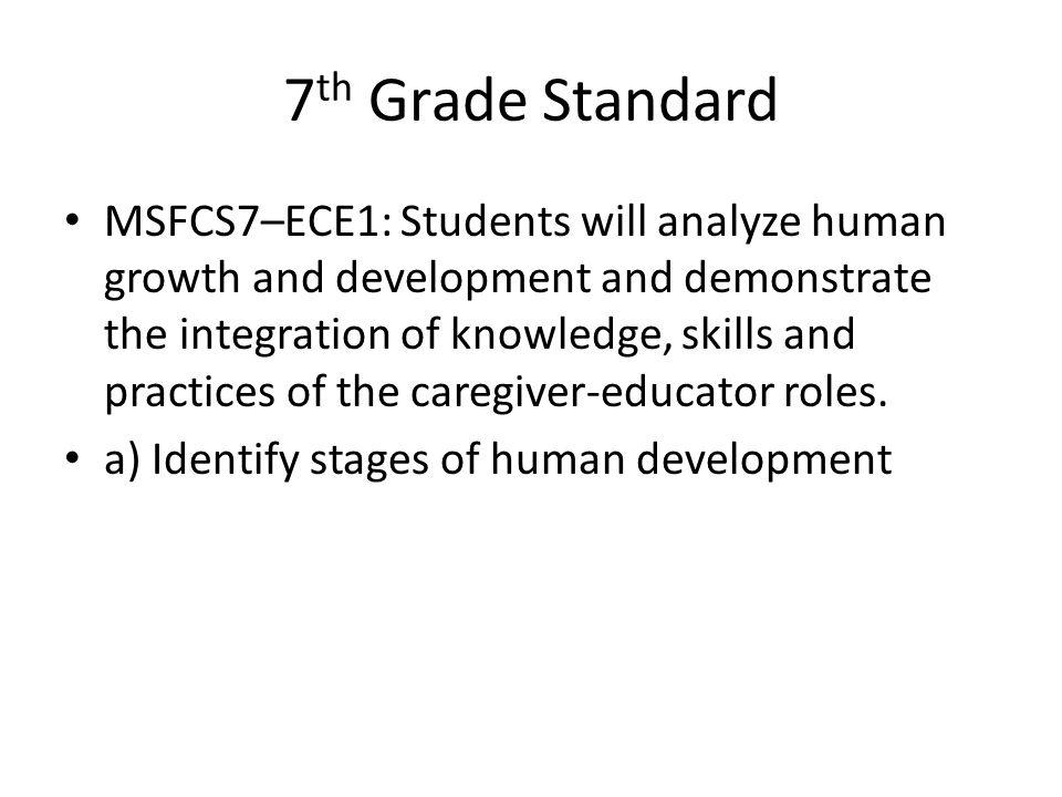7th Grade Standard