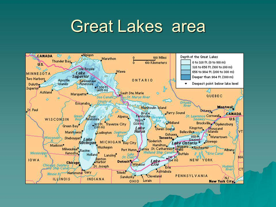 Great Lakes area
