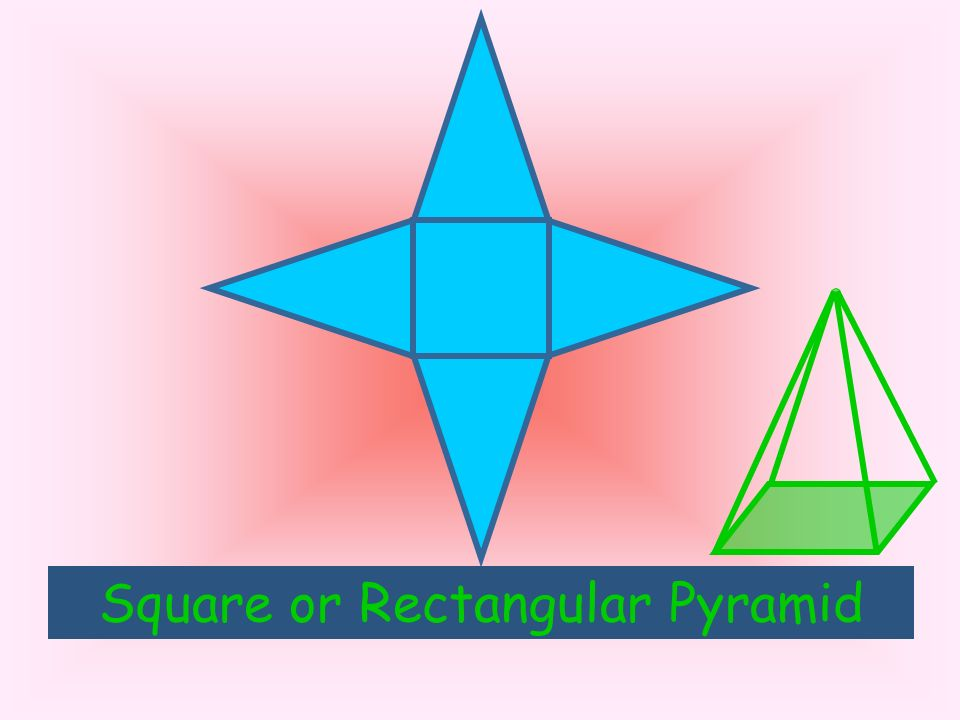 Square or Rectangular Pyramid