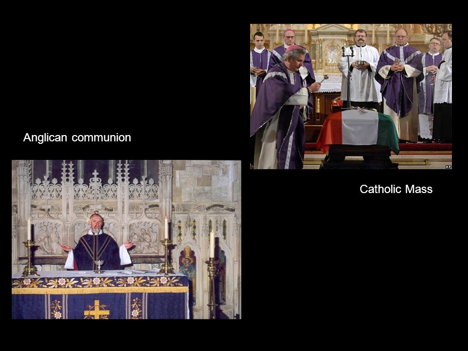 Anglican communion Catholic Mass