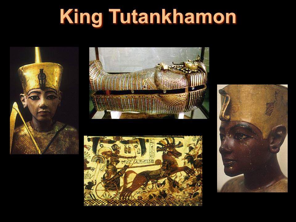 King Tutankhamon