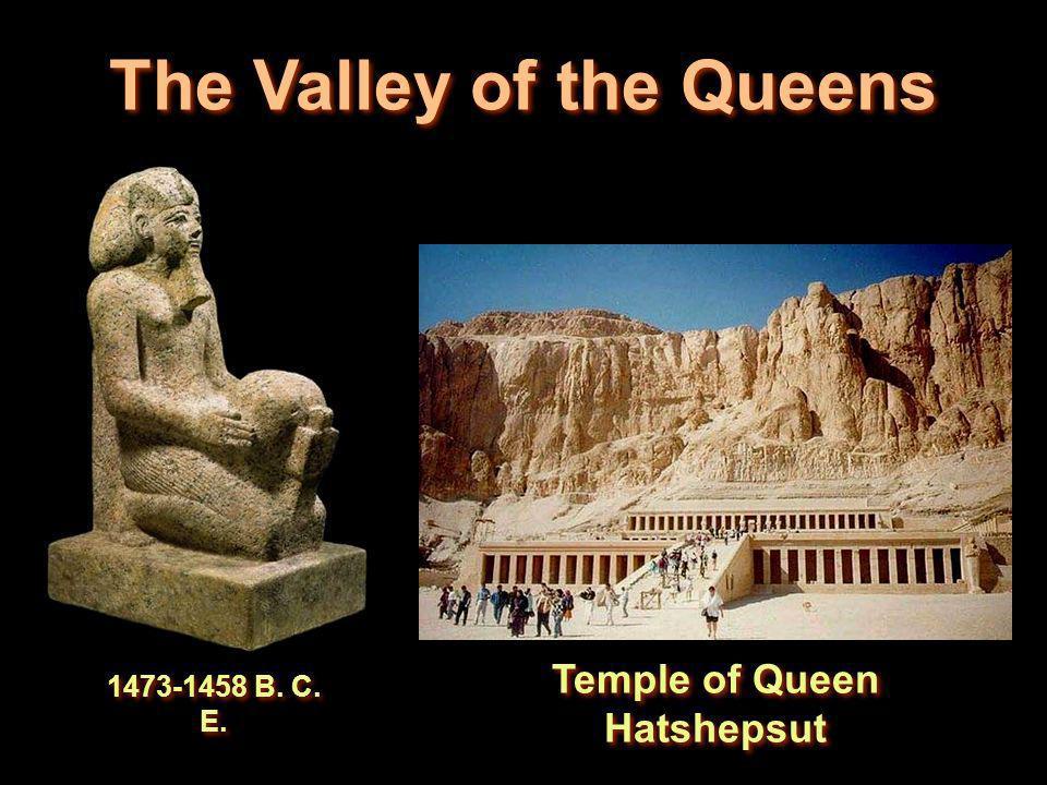The Valley of the Queens Temple of Queen Hatshepsut