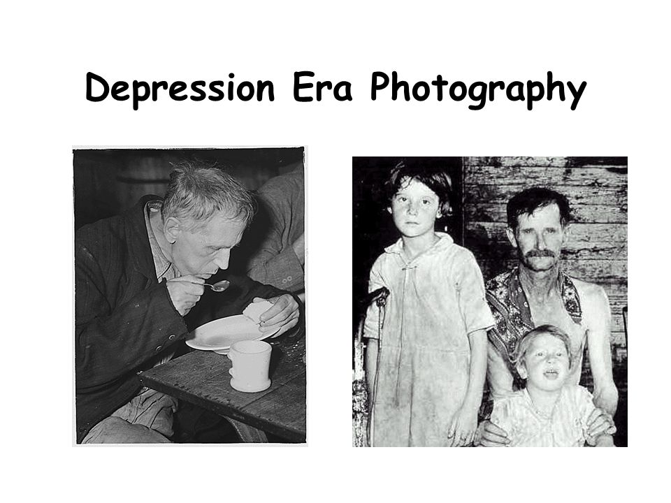 Depression Era Photography