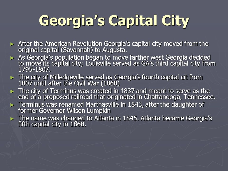 Georgia's Capital City