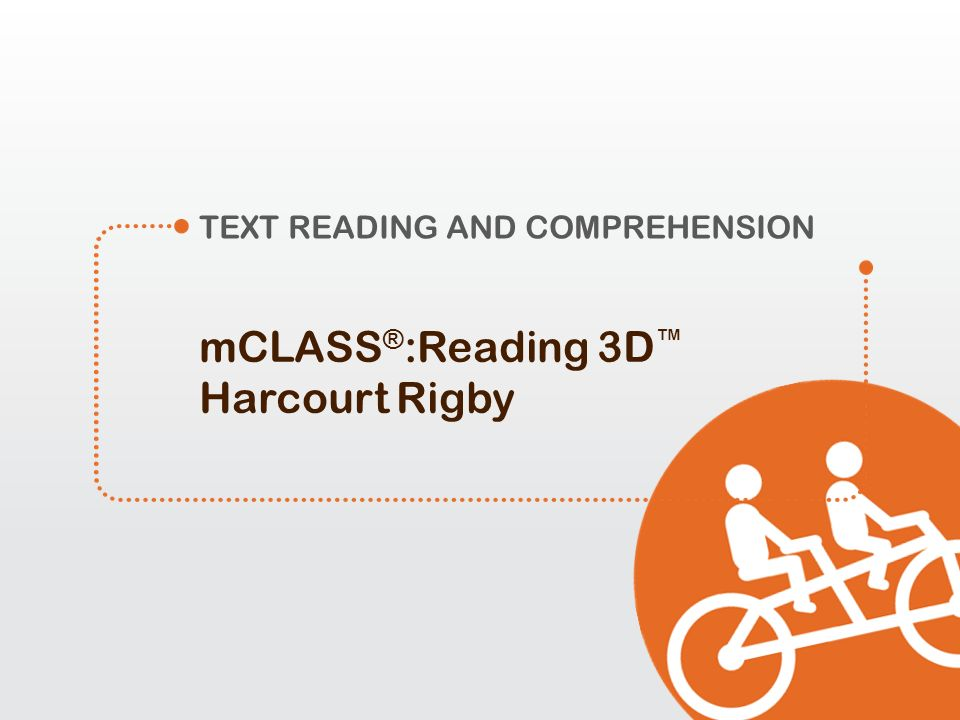 mCLASS®:Reading 3D™ Harcourt Rigby