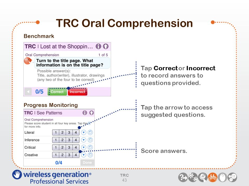 TRC Oral Comprehension