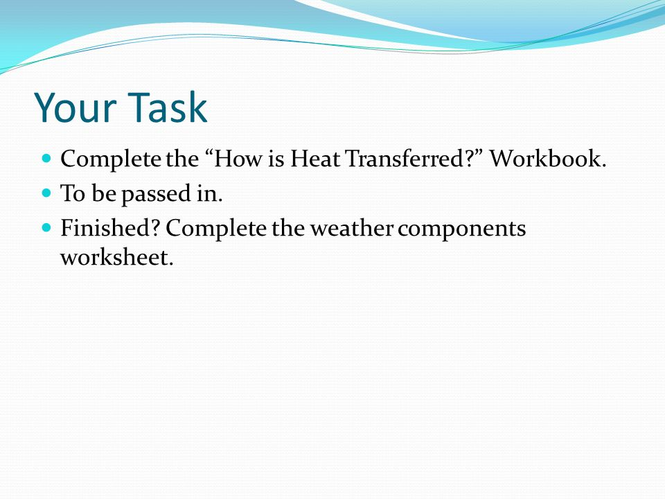 Understanding Thermal Energy and Heat Transfer ppt video online – Heat Transfer Worksheet