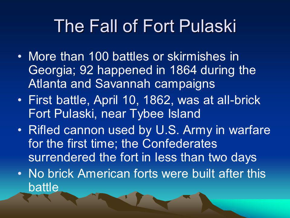 The Fall of Fort Pulaski