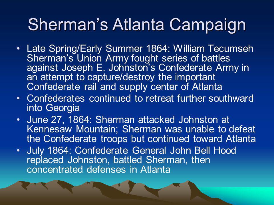 Sherman's Atlanta Campaign
