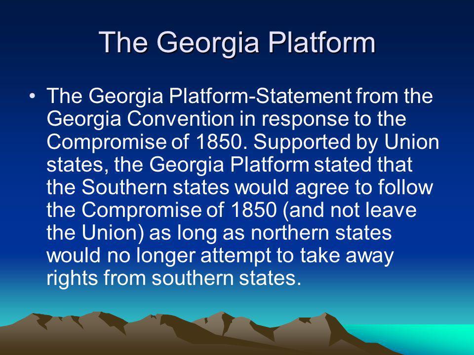 The Georgia Platform