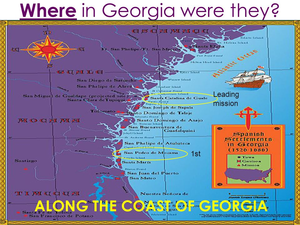 Where in Georgia were they