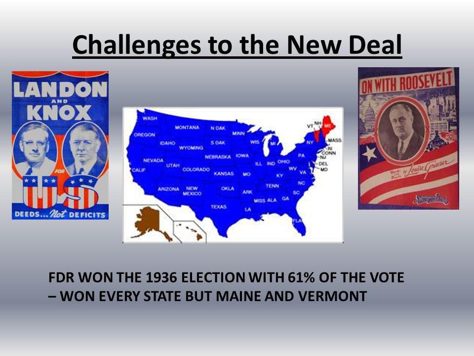 CHAPTER 13 SECTION 2 THE SECOND NEW DEAL.