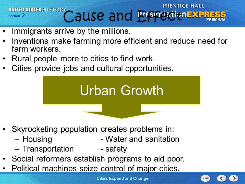 cause and effect of overcrowded city An essay entitled 'describe some of the problems caused by overcrowding  (overcrowding) so a lot of cause and effect phrases are needed  a city crowded with .