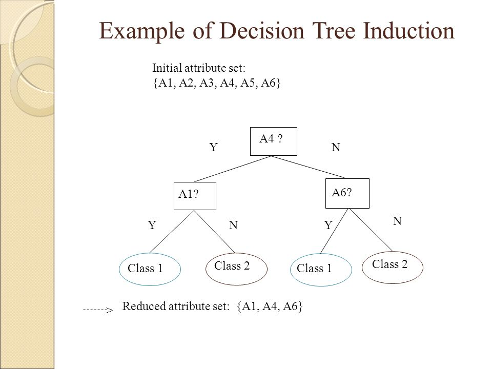 Example of Decision Tree Induction
