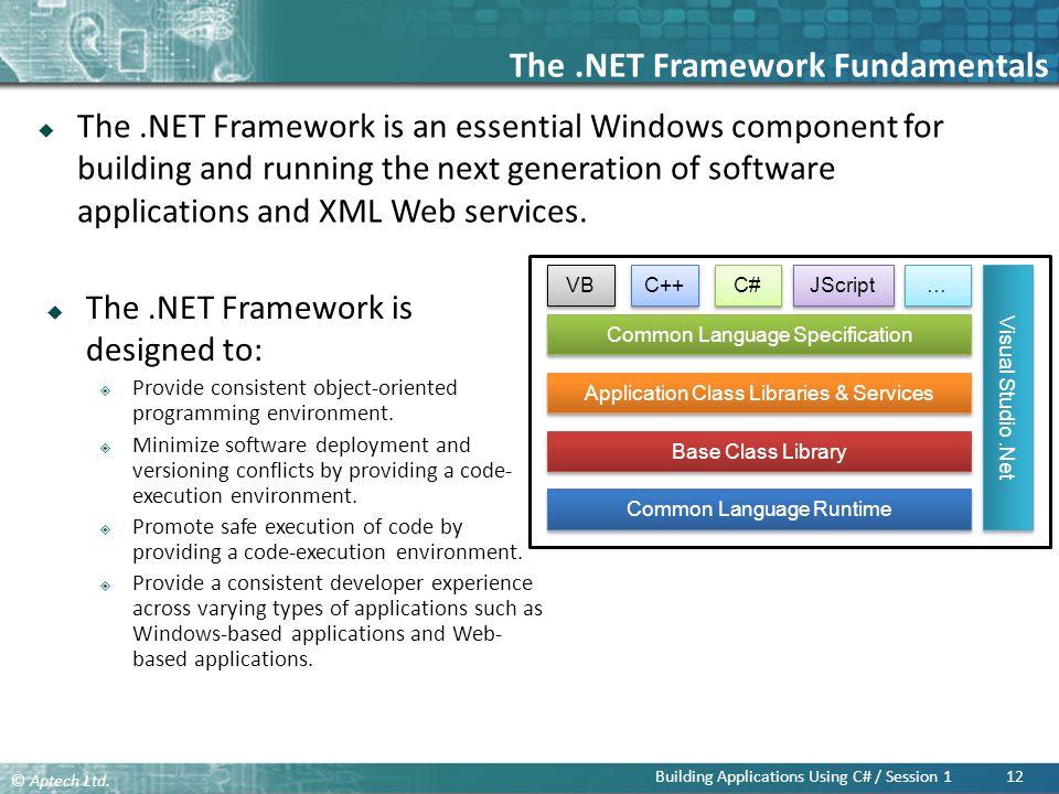 The .NET Framework Fundamentals