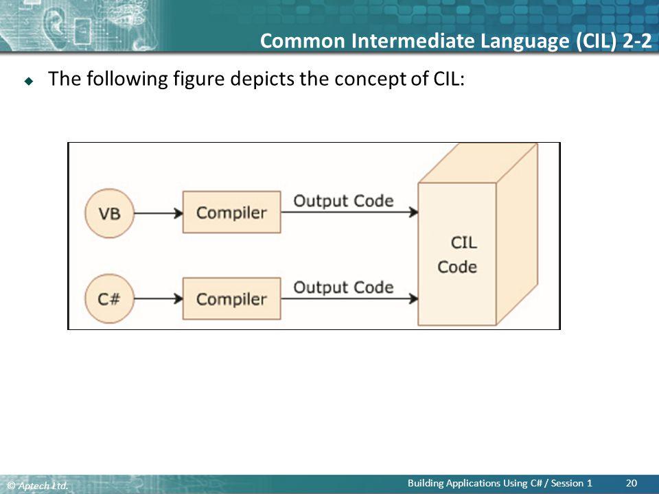 Common Intermediate Language (CIL) 2-2