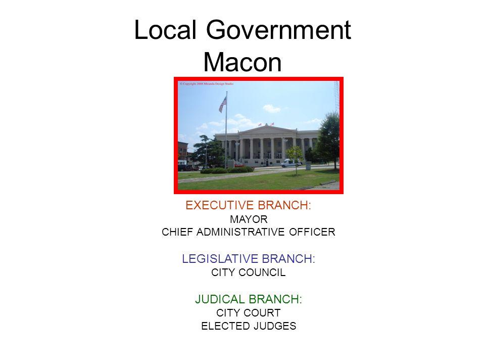 Local Government Macon