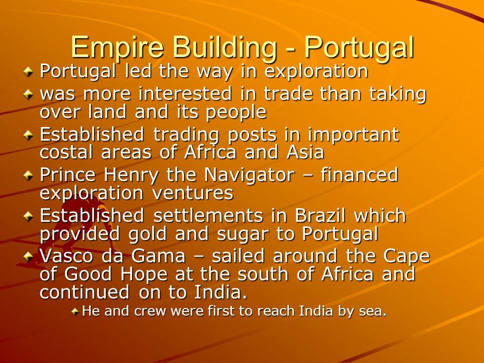 Empire Building - Portugal