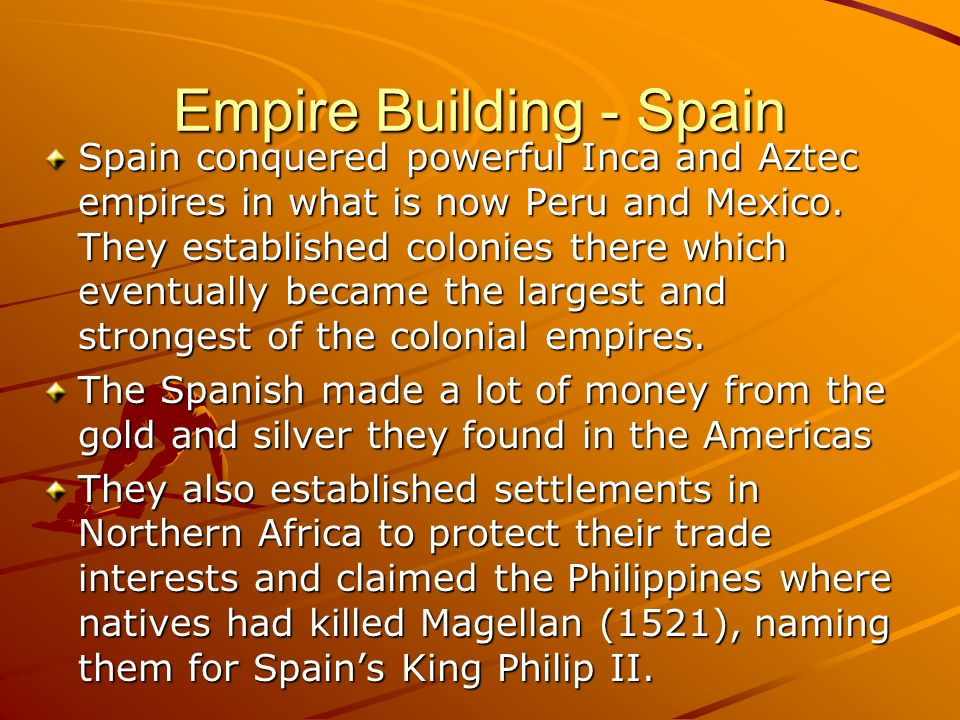 Empire Building - Spain