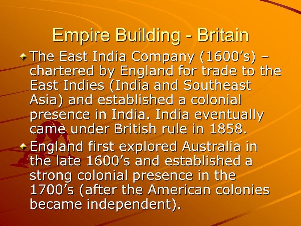 Empire Building - Britain