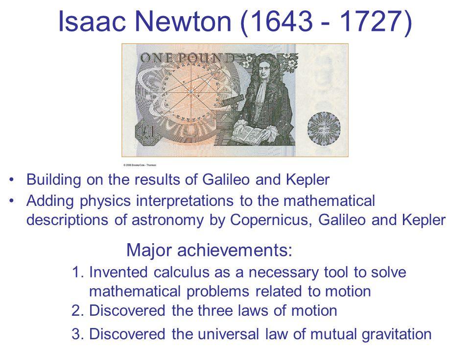 Galileo Galilei Major Achievements