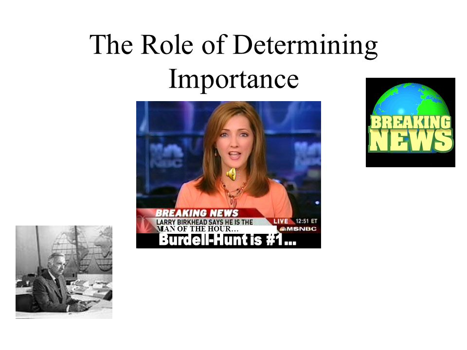 The Role of Determining Importance