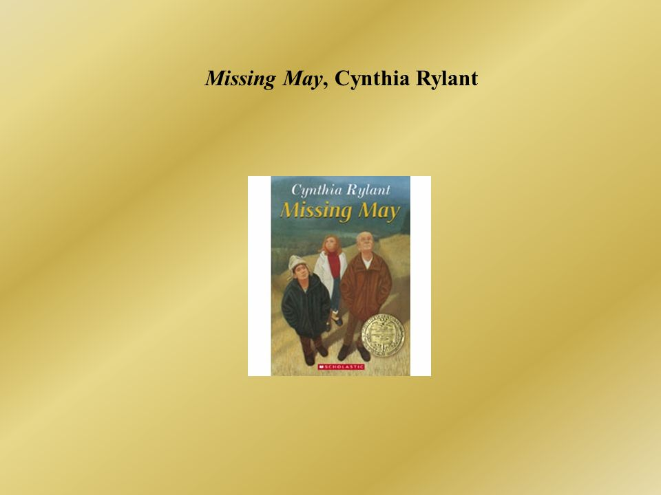 Missing May, Cynthia Rylant