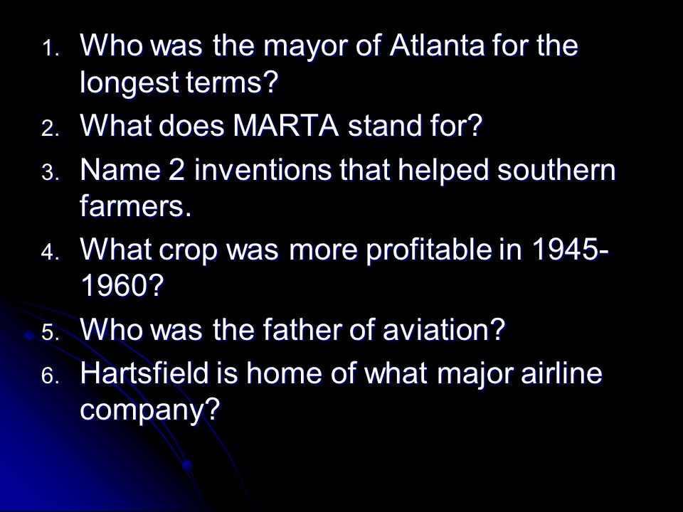 Who was the mayor of Atlanta for the longest terms