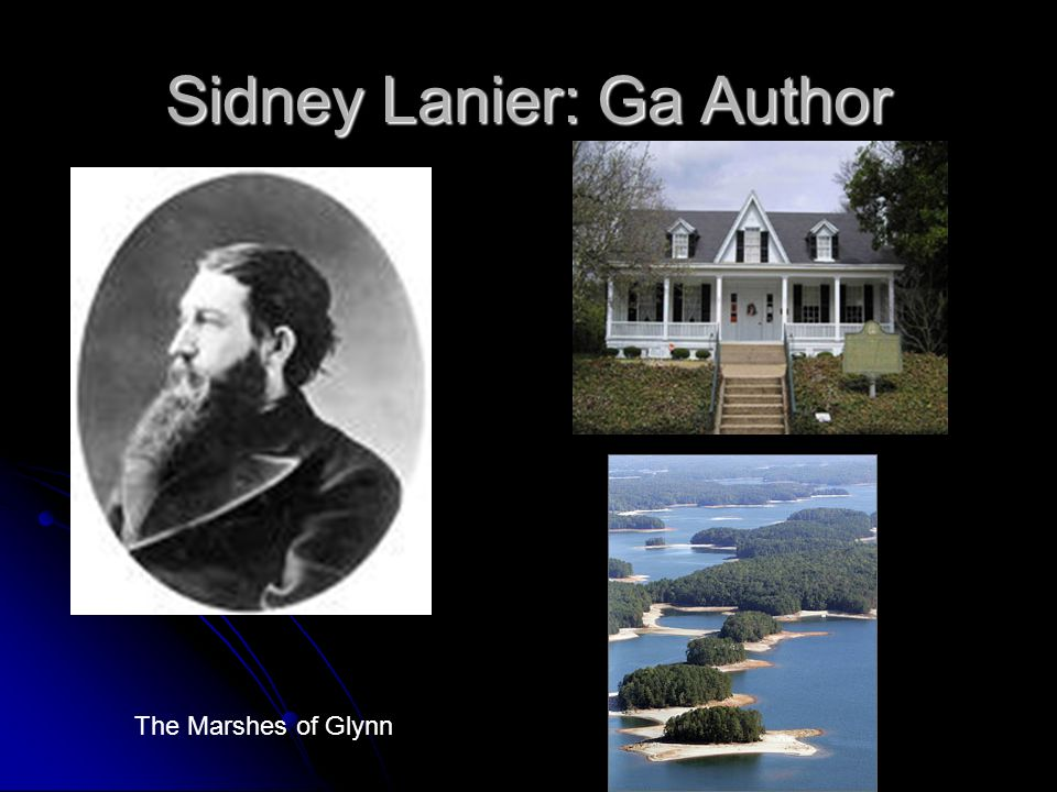 Sidney Lanier: Ga Author
