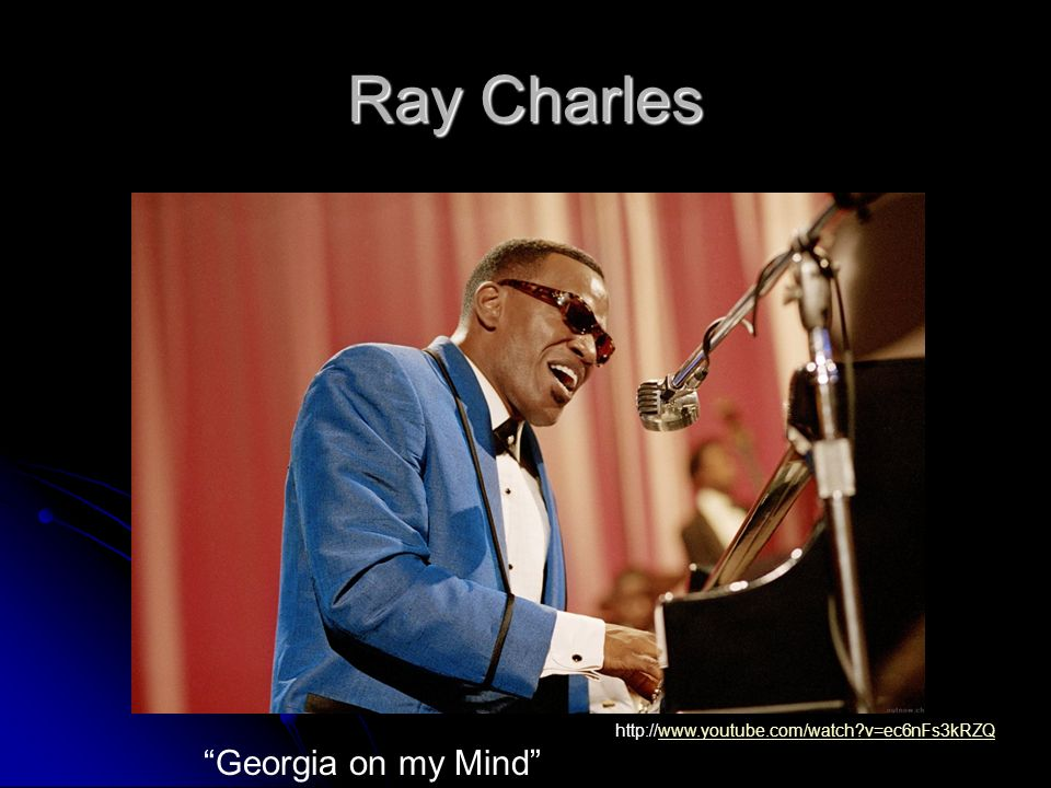 Ray Charles Georgia on my Mind