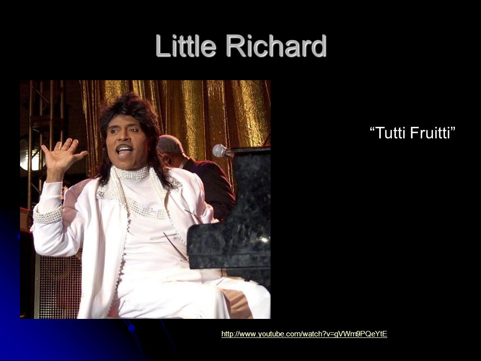 Little Richard Tutti Fruitti