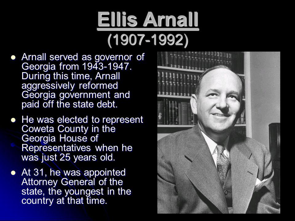 Ellis Arnall (1907-1992)