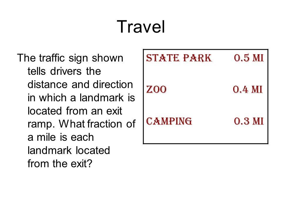 Travel State park 0.5 mi Zoo 0.4 mi