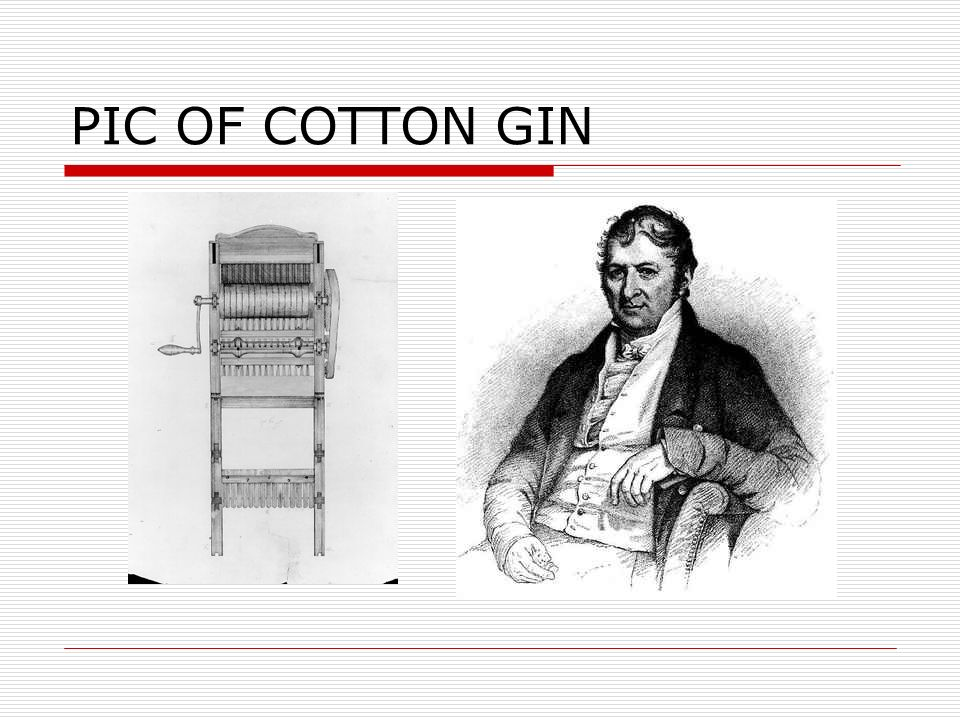 PIC OF COTTON GIN