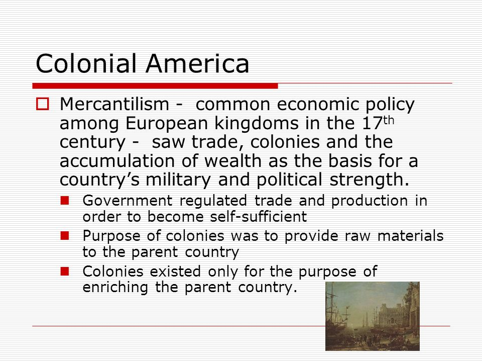 the influence of economics in colonial america The thirteen american colonies were one part of a global empire generated by the british in a series of colonial wars the colonists did attempt to exert some influence in it through jr economic burden: spark to the american revolution journal of economic history 38, no 1.