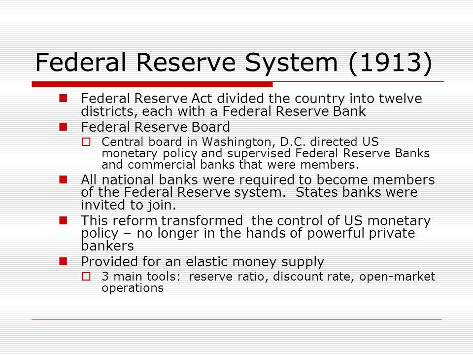 Federal Reserve System (1913)