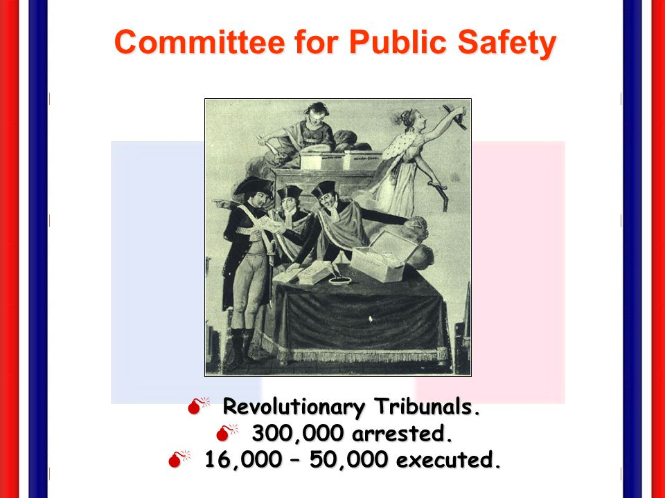 Committee for Public Safety Revolutionary Tribunals.