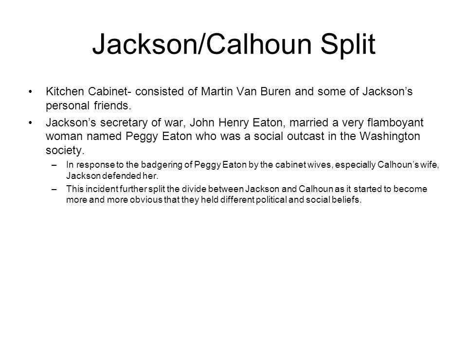 Jackson/Calhoun Split
