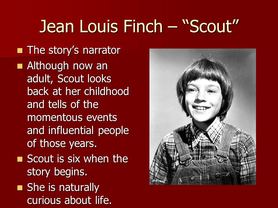 Jean Louis Finch – Scout
