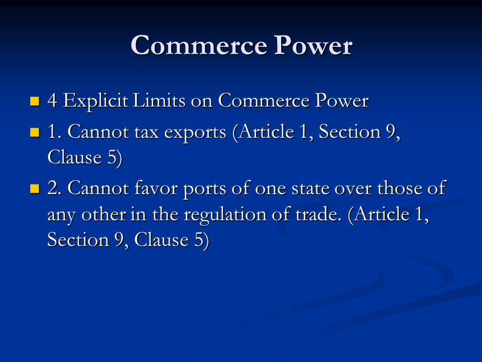 Free Federal Tax >> The Expressed Powers Chapter 11 Section ppt video online download